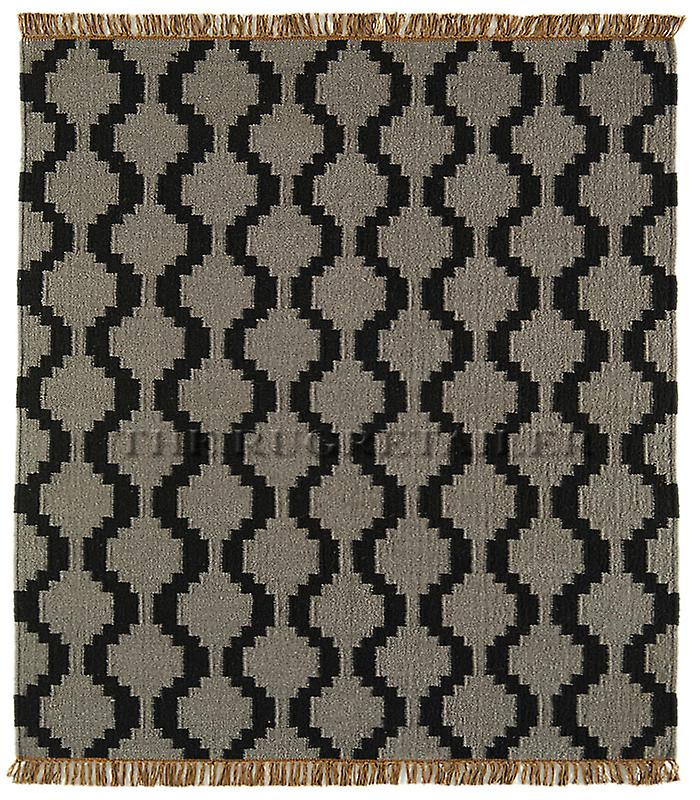 Rugs - Jeff Banks Kilim - Grey Geo