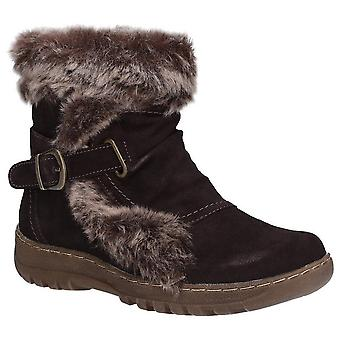 Fleet & Foster Womens/Ladies Ginny Suede Ankle Boot