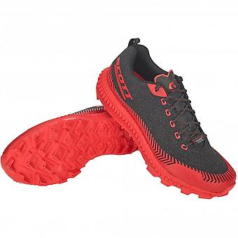 Supertrac Ultra RC Mens CUSHIONED OFF-ROAD Running Shoes Black/Red