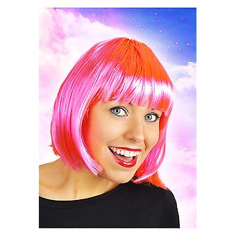Pelucas peluca Bob Sofía rosa