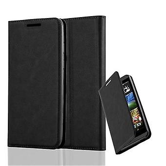 Cadorabo case for HTC desire-820 - mobile case with magnetic closure, stand function and card holder - case cover sleeve pouch bag book Klapp style