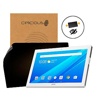 Celicious Privacy 2-Way Anti-Spy Filter Screen Protector Film Compatible with Lenovo Tab 4 10 Plus