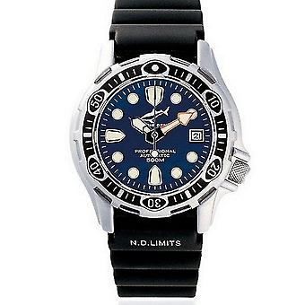 Chris Benz watch diver watch deep CB-500A-B-KBS