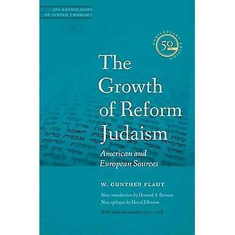 La croissance du judaïsme réformé - Sources américaines et européennes, par W.Gunt