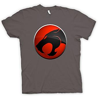Kids T-shirt - Thundercats Red / Black Logo