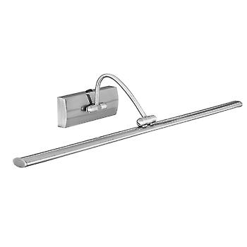 Searchlight 2984-51SS Satin Silver Modern LED Picture Light