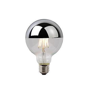 Яйца lucide Светодиодные лампы Старинный глобус стекла хром Лампа накаливания