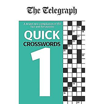 The Telegraph Quick Crosswords 1 - The Telegraph Puzzle Books