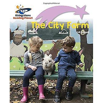 Lecture de planète - la ferme de ville - lilas Plus: décollage tout d'abord les mots (Rising Stars lire la planète)
