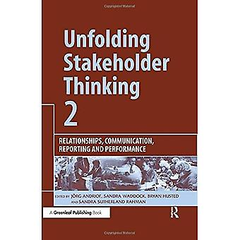 Unfolding Stakeholder Thinking: Relationships, Communication, Reporting and Performance No. 2