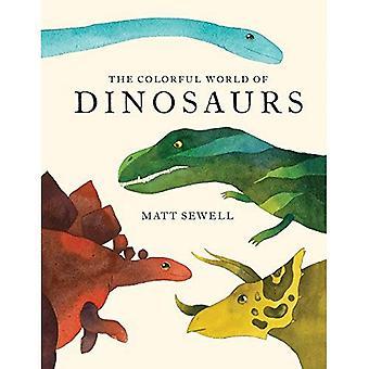 Den färgstarka världen av dinosaurier