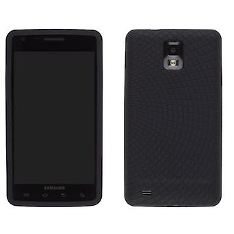 Wireless Solutions Radiant Silicone Gel Case for Samsung Infuse 4G SGH-I997 (Black)