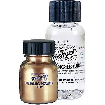 Metallic Gold Liquid Powder