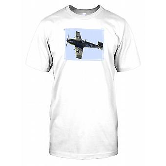 Messerschmitt German Fighter Plane Kids T Shirt