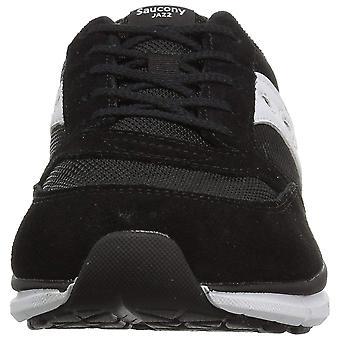Kinderen Saucony meisjes Jazz Lite leder laag bovenste Lace Up Running Sneaker