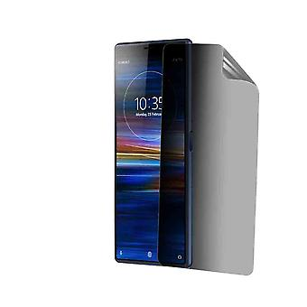 Celicious Privacy Plus 4-Way Anti-Spy Filter Screen Protector Film Compatible with Sony Xperia 10 Plus
