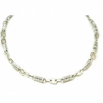 Toc Sterling Silver Elegant Cubic Zirconia 28 Inch Necklace