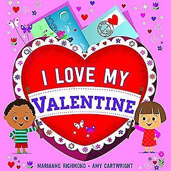 I Love My Valentine by Marianne Richmond - 9781492659808 Book