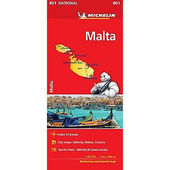 Malta - Michelin National Map 801 - 2018 by  - 9782067229037 Book