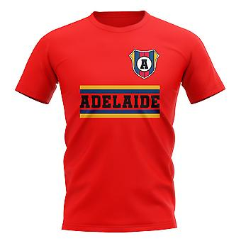 Adelaide United Core Football Club T-Shirt (Red)