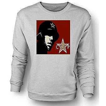 Mens Sweatshirt CCCP Russian - Propaganda Poster
