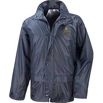 Military Provost Staff Corps Veteran - Licensed British Army Embroidered Waterproof Rain Jacket