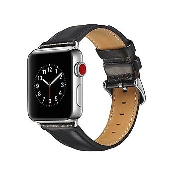 Bakeey 44mm/42mm 40mm/38mm leather watch band strap for smart watch apple watch1/2/3/4