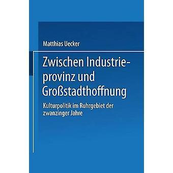 Zwischen Industrieprovinz und Grostadthoffnung  Kulturpolitik im Ruhrgebiet der zwanziger Jahre by Uecker & Matthias