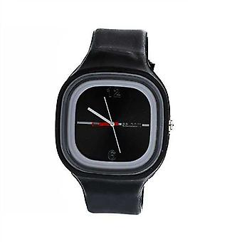 Watch Black All Rubber excluding