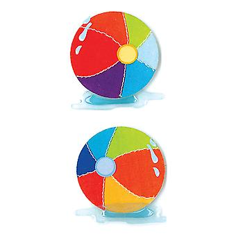 Jolee's By You Dimensional Stickers Slim Beach Balls E5040025