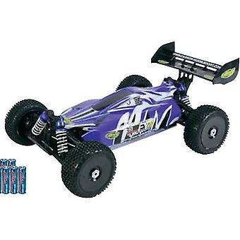 Carson Modellsport destructor línea BL 4S Brushless 1:8 RC modelismo coches Buggy eléctrico 4WD RtR 2,4 GHz