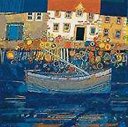 George Birrell print - Low Tide, Fife