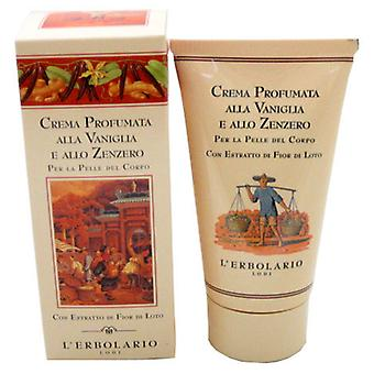 L'Erbolario Vanilla and Ginger Body Cream