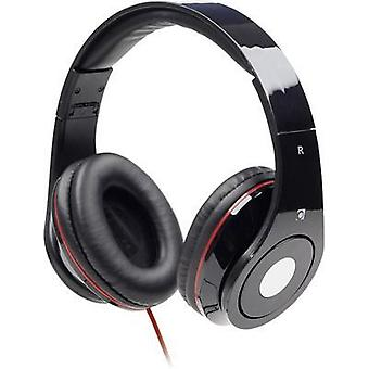 Gembird Detroit Hi-Fi Headphones Black