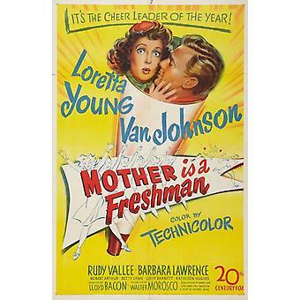 Mor er en førsteårsstudent film plakat (11 x 17)
