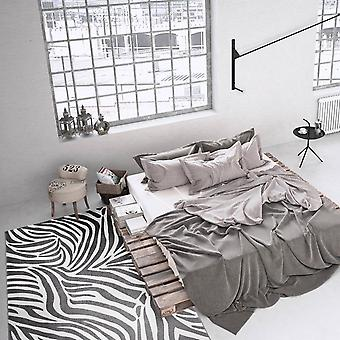 Weconhome Zebra Teppiche 0729 03 grau