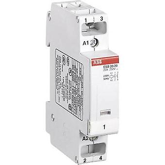 ABB installation contactor ABB ESB 20-20 2 normally open contacts 230 V/50 Hz