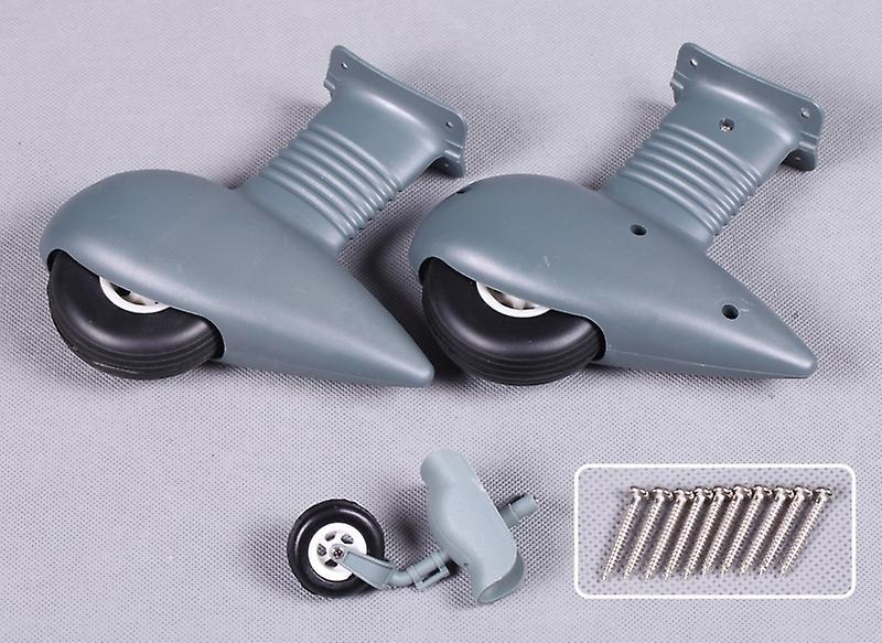 FMS 1.4m Stuka - Landing Gear Set