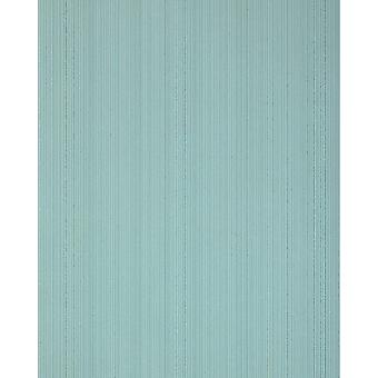 Stripe wallpaper EDEM 557-15 foam vinyl wallpaper structured in a textile look matte teal pastel turquoise mint turquoise 5.33 m2