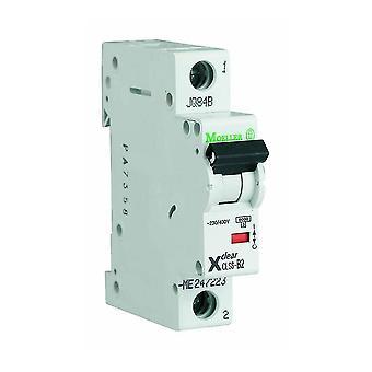 1-полюсный 1-модуль 16/25/32А 230/400В цепи выключателя Итон CLS6-D16/25/32-DP