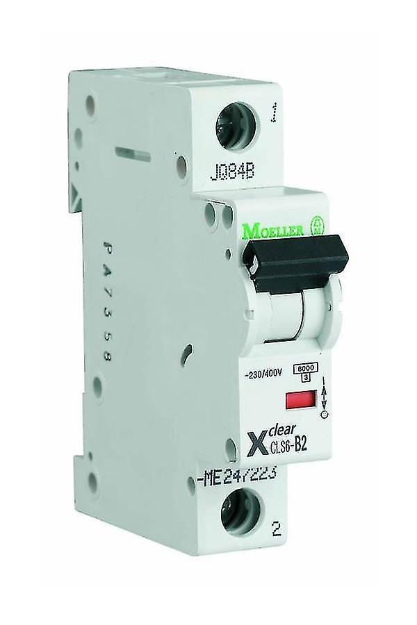 1-Pole 1-Module 16/25/32A 230/400VAC Circuit Breaker Eaton CLS6-D16/25/32-DP
