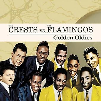 Crests vs. the Flamingos - Golden Oldies [CD] USA import
