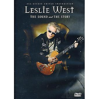 Leslie West - lyd & historie [DVD] USA Importer