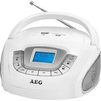 AEG Radio Sd/Usb/Mp3 Sr 4373 Blanco (Home, elektronica, Radios)