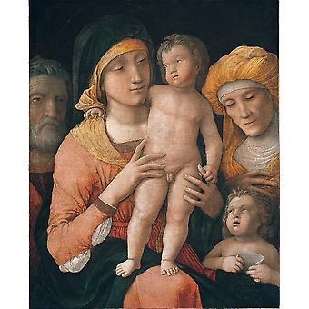 Andrea Mantegna - Madonna and Child Poster Print Giclee