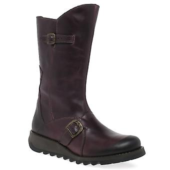 Fly London Mes 2 Womens Calf Length Boots