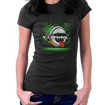 Ghost In The Shell Super Mario Bros Women's T-Shirt