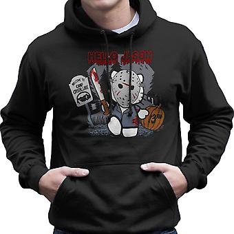 Hallo Jason vrijdag de 13e Kitty mannen Hooded Sweatshirt