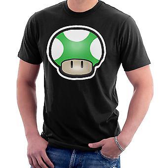 Camiseta Super Mario seta verde de los hombres