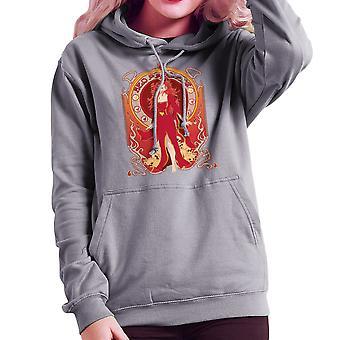 Melisandre rot Prinzessin Game of Thrones Frauen das Sweatshirt mit Kapuze